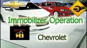 2015 Chevy Trax Immobilizer Light Immobilizer Operation Chevrolet