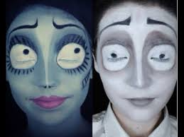 the corpse bride emily victor makeup tutorial you