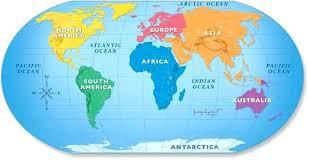 World Continents Rug 1 A Large Map Vector Free Weggelopen Info