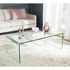 safavieh willow clear coffee tablefoxa  the home depot