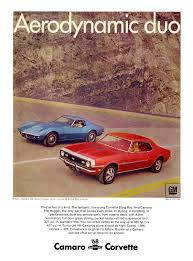 what new car did chevy release in 196845 Awesome Vintage Chevrolet Camaro Ads  Feature  Car and Driver