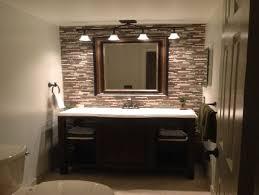 lighting over bathroom mirror modern on ideas 2