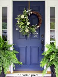 front doors front door blue black front door blue house front