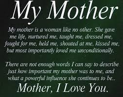 Beautiful Mother Quotes From Daughter Best of 24 Best Miss You Mom Images On Pinterest Words Mother's Day And