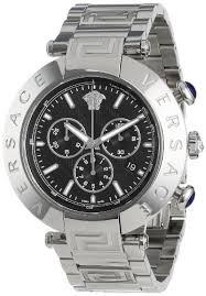 amazon com versace men s va8020013 reve stainless steel watch amazon com versace men s va8020013 reve stainless steel watch watches
