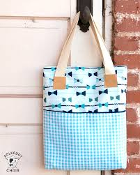 Tote Bag Sewing Pattern
