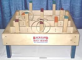 Wooden Carnival Games Carnival Games Backyard Party Supply 1