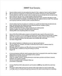 Professional Goals List Free 30 Smart Goals Examples Samples In Pdf Doc Examples