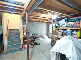 unfinished basement ideas. Fully Unfinished Basement Ready For Ideas N