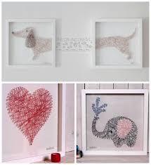 Nail and String Art by Mr & Mrs Morgan.