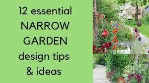 Garden Design Long Garden 12 Narrow Garden Design Tips And Ideas