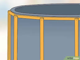 how to build a deck around an above