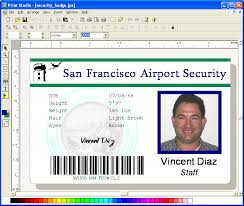 Download Security Studio Name Free Try Trial Print Visitor Pass Card Badge Photo Maker Badges Badge Software Id