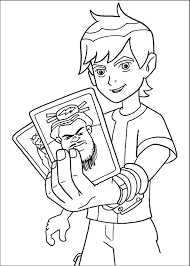 Small Picture Ben 10 Coloring Pages