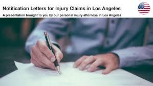 Notification Letters For Injury Claims In Los Angeles