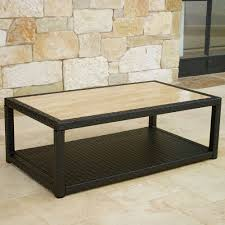 ... Coffee Table, Portofino Comfort Stone Top Coffee Table Stone Top  Cocktail Table: Cool Of ...