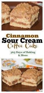 Especially because it's monday, and monday wow. Cinnamon Sour Cream Coffee Cake 365 Days Of Baking And More