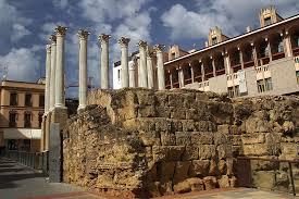 Resultado de imagen de templo romano de cordoba