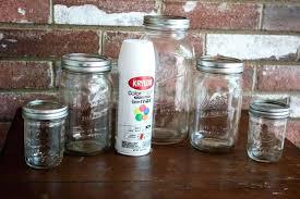 bathroom jars mason jar bathroom set jars 1 of 1 bathroom jars with lids