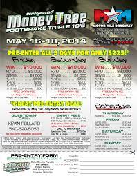 money tree footbrake triple 10 bracket race