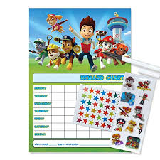 29 Up To Date Paw Patrol Potty Chart