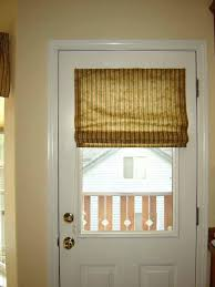 front door window covering ideas curtains