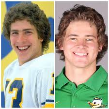 Justin Herbert channeling that young Marino : miamidolphins