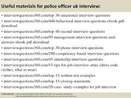 Police Interview Questions And Answers Top 10 Police Officer Uk Interview Questions And Answers
