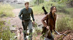 film the hunger games liam hemsworth gale and jennifer lawrence katniss share hunting time at sweetwater creek state park