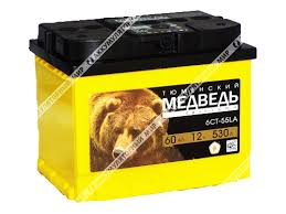 Аккумулятор <b>Тюменский Медведь</b> 60 Ач о.п. купить в Екатеринбурге