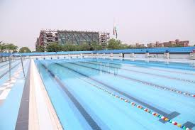 olympic size swimming pool. Chancellor Naveen Jindal Inaugurates Olympic Size Swimming Pool At JGU Olympic 0