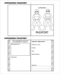 Free Passport Template For Kids Comfortable Free Passport Photo Template Contemporary Example 34