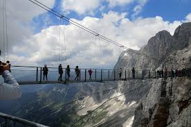 It offers space for a maximum of 4 people. Dachstein Hangebrucke Free Photo On Pixabay