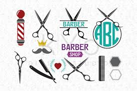 Basic, scalloped, crinkle, and scroll. Free Svg Files Barber Shop Hair Dresser Salon Hairstylist Scissors Svg Dxf Png Eps Cut Files For Cricut And Silhouette Crafter File