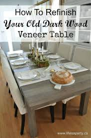 refinishing dining room table need expert advice designs