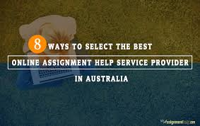 Quality Assignment Help Service Provider in Australia