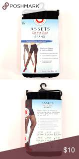Assets By Spanx Size Chart Assets By Spanx Womens Black Shaping Tights 1 A Assets By
