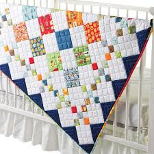 9 Patch Quilt Designs Details About Diamond Patch Baby Quilt Pattern New 9 Patch