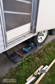 the 1 67 travel trailer door fix and a lesson via funky junk interiors