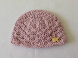 Easy Crochet Baby Hat Patterns For Beginners Magnificent How To Crochet A Cute Baby Girl's Hat For Beginners YouTube