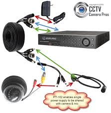 audio surveillance microphone installation wiring guide installing audio surveillance microphone audio video power cable security camera and