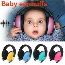 Satın Al Yeni Bebek Kulak Earmuffs Gürültü Önleyici Kulaklıklar Için Çocuk  Bakım Koruma Bebeğiniz Bir Sessiz Uyku Ortamı Ver İşitme, TL74.21