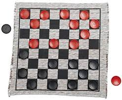 Kitchen Design Games Beauteous Amazon Multiflex Designs Jumbo Checker Rug Game Kitchen Dining