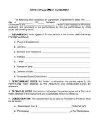 music management contract music artist contract template with simple artist management