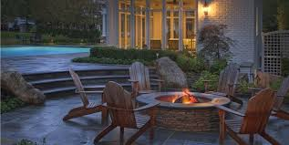 outdoor stone fire pit. Stone Fire Pit Zaremba And Company Landscape Clarkston, MI Outdoor