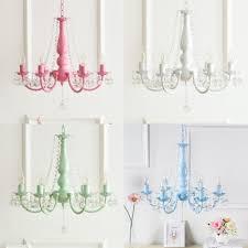 modern dining room kids bedroom chandelier 6 light metal crystal chandelier light