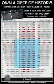 Egyptian Theater Seating Chart Related Keywords