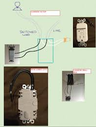 gfci wiring diagram switch gfci image wiring need help wiring a gfci combo switch outlet into current on gfci wiring diagram