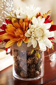 For a tabletop focal point, nothing draws attention like our arrangement of  faux dahlias,
