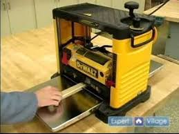 portable planer. how to use a portable thickness planer : what is planer? - youtube